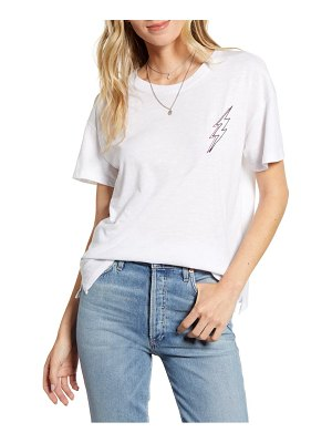 Rails davie embroidery lightning bolt cotton top