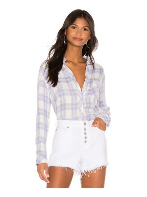 Rails hunter button down top