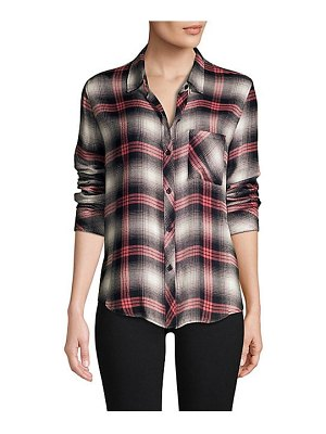 Rails hunter plaid button-down shirt