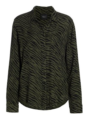 Rails hunter tiger print top
