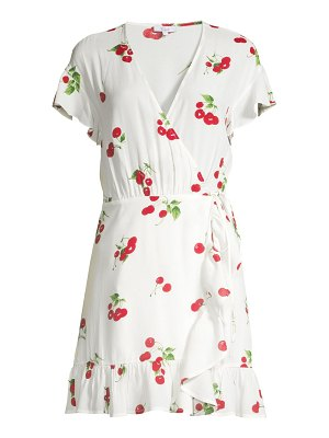 Rails koreen cherry print wrap dress