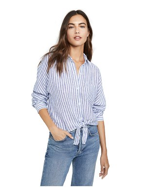 Rails rylan linen button down shirt