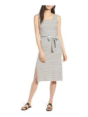 Rails taylin sleeveless tie waist midi dress
