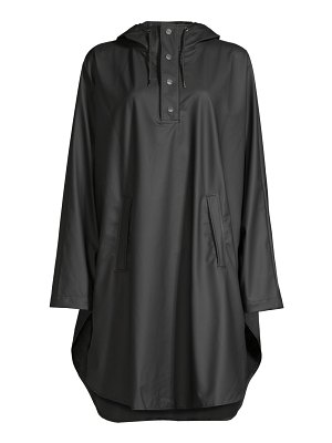 Rains hooded poncho