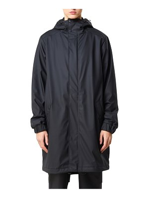 Rains long quilted waterproof parka