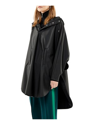 Rains waterproof hooded rain poncho