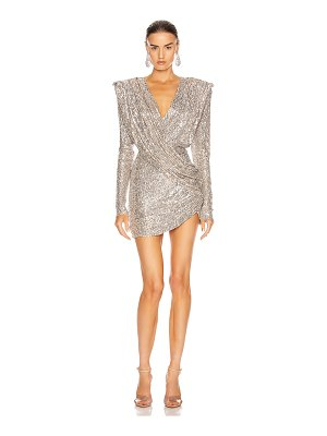 RAISA&VANESSA sequined mini dress