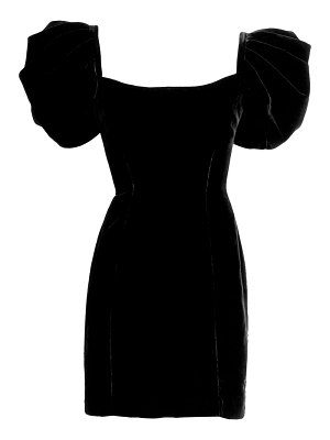 Ralph and Russo puff sleeve belted mini dress