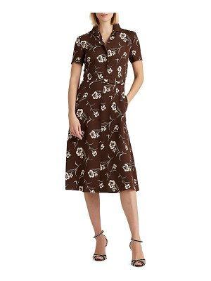 Ralph Lauren Collection alayna floral day dress