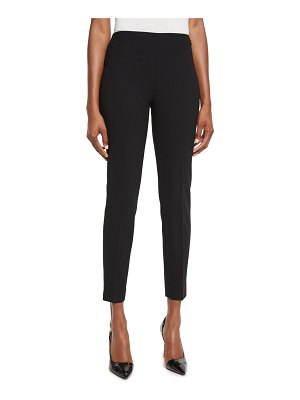 Ralph Lauren Collection Annie Cropped Wool Crepe Pants