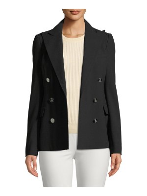 Ralph Lauren Collection Camden Double-Breasted Stretch-Wool Jacket