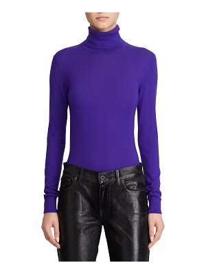 Ralph Lauren Collection Cashmere Jersey Turtleneck Sweater