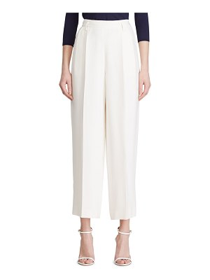 Ralph Lauren Collection Clifton Pleated Wool Pants