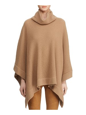 Ralph Lauren Collection Cowl Neck Poncho Sweater
