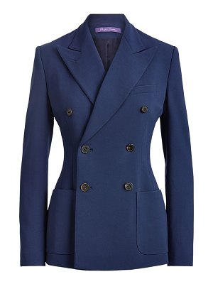 Ralph Lauren Collection leslie double breasted jacket