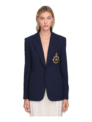 Ralph Lauren Collection Light wool blend single breasted jacket