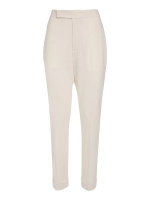 Ralph Lauren Collection Wool crepe straight leg pants