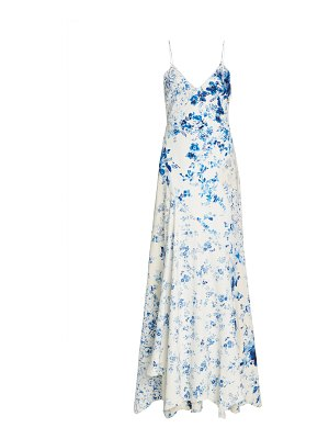 Ralph Lauren kourtney floral-print crepe gown