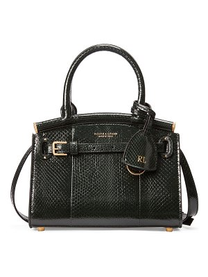 Ralph Lauren Mini RL50 Ayers Satchel Bag