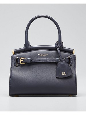 Ralph Lauren Smooth Mini RL 50 Satchel Bag