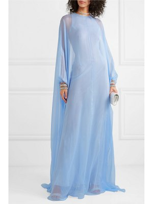 Ralph & Russo crystal-embellished silk-chiffon gown