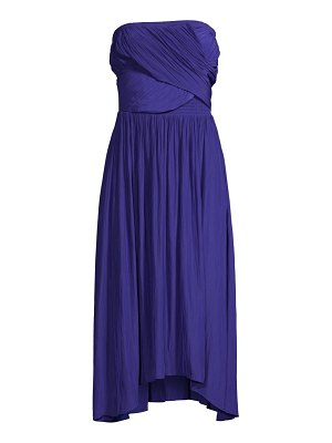 Ramy Brook ava ruched midi dress