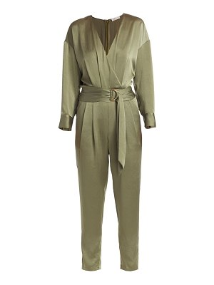 Ramy Brook crosby satin jumpsuit