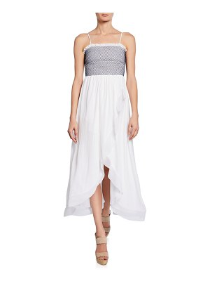 Ramy Brook Demetra Sleeveless High-Low Dress