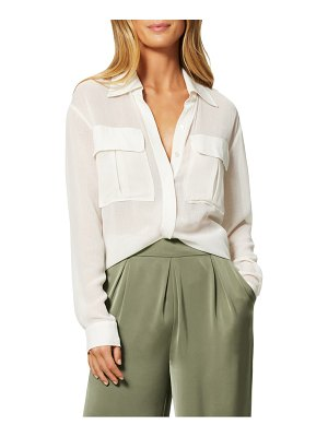 Ramy Brook kennedy button-up blouse