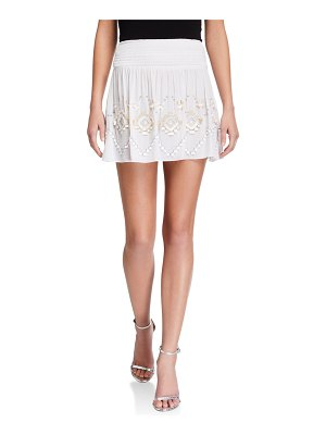 Ramy Brook Kenny Embroidered Skirt