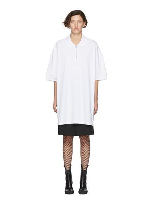 Random Identities oversized cut-out polo