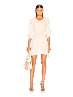 Raquel Allegra Belted Boxy Dress
