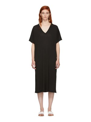 Raquel Allegra Boxy V-Neck Dress