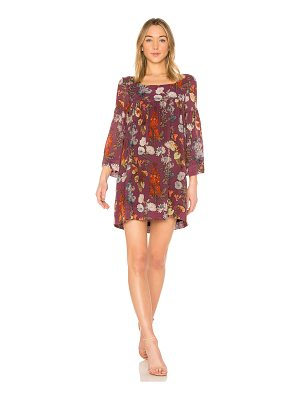 Raquel Allegra Empire Mini Dress