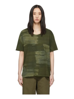 Raquel Allegra green new boxy t-shirt
