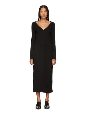 Raquel Allegra Jersey V-Neck Dress