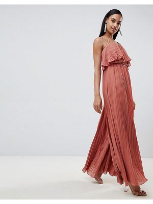 Rare pleated frill detail jumpsuit