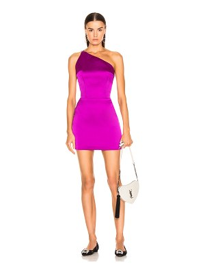 Rasario one shoulder mini dress