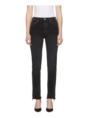 Re-done Re/Done  Double Needle Long Jeans