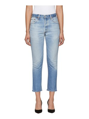RE/DONE levis edition high-rise ankle crop jeans