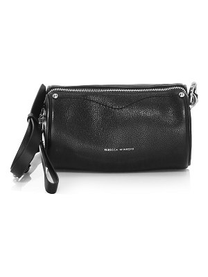 Rebecca Minkoff barrel leather crossbody bag