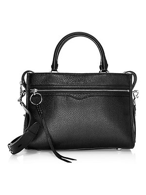 Rebecca Minkoff bedford leather zip satchel