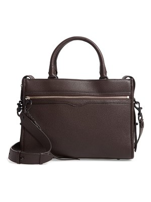 Rebecca Minkoff bedford zip leather satchel