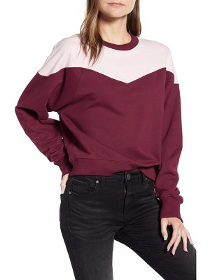 Rebecca Minkoff colorblock cotton sweatshirt