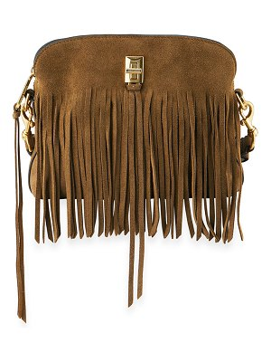 Rebecca Minkoff Darren Small Fringe Suede Shoulder Bag