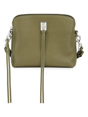 Rebecca Minkoff Darren Small Triple-Compartment Leather Crossbody Bag