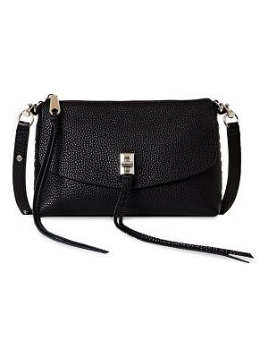Rebecca Minkoff Darren Zip Leather Crossbody Bag