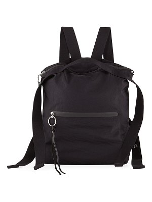 Rebecca Minkoff Distressed Nylon Tote Backpack
