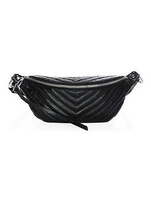 Rebecca Minkoff edie leather sling belt bag
