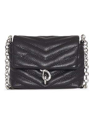 Rebecca Minkoff Edie Micro Quilted Leather Crossbody Bag